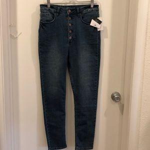nwt o'neill skinny jeans. size 30